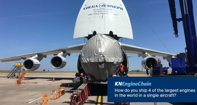 Kuehne+Nagel and Volga-Dnepr enjoy a 25-year relationship.  Image: KN on Twitter