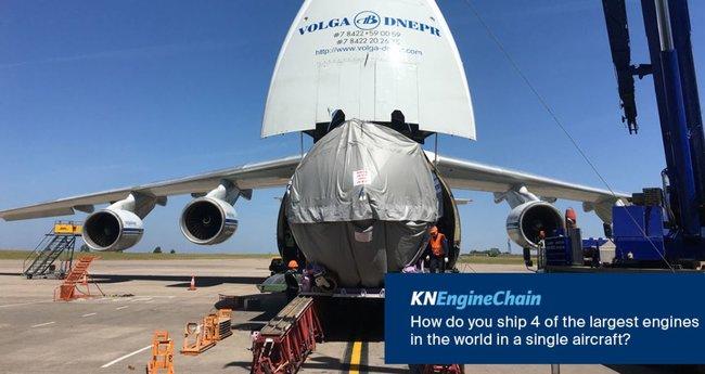 Kuehne+Nagel and Volga-Dnepr enjoy a 25-year relationship.  Image: KN on Twitter