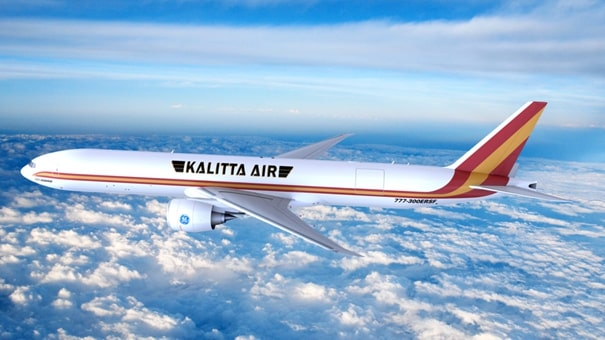 Kalitta Air will be the B777-300ERSF launch operator in 2023.  Image: GECAS