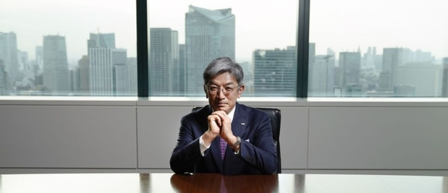 Toshiaki Toyama, CEO ANA Cargo aiming for 5th position. Image: Bloomberg
