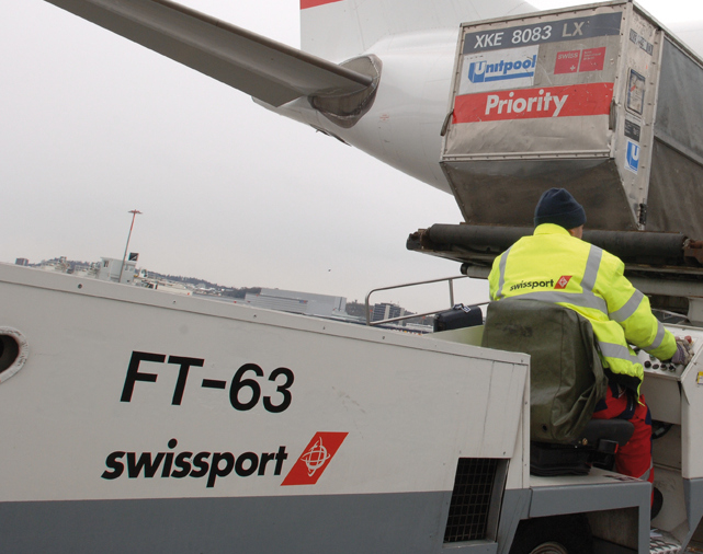 Swissport Cargo in Belgium is not affected by the daughter company's insolvency  -  photo: credit Swissport Cargo