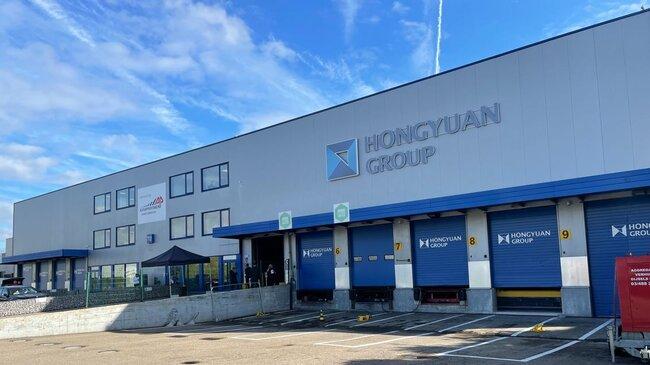 Hongyuan's new cargo terminal at Brussels Airport