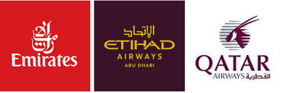 ... against their Gulf opponents Emirates, Etihad, Qatar.