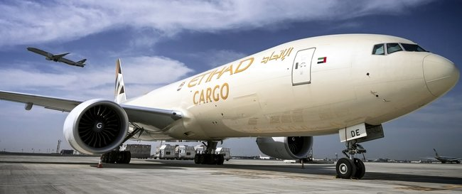 Photo courtesy of Etihad Cargo