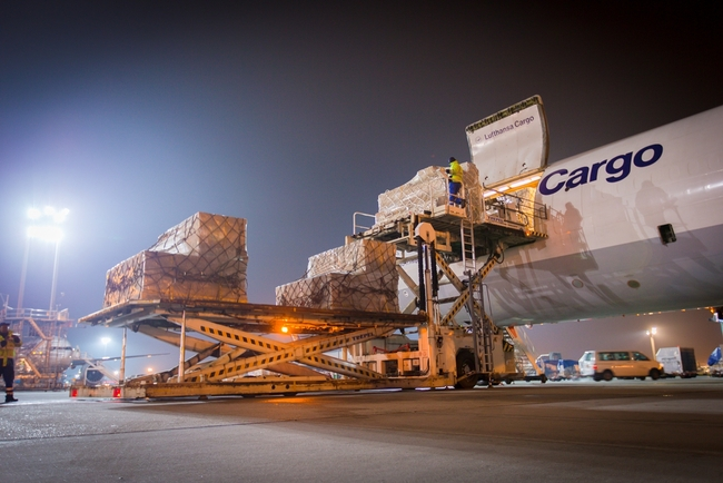 Lufthansa Cargo reports full loads and record earning in 1st half of 2021  -  photo company courtesy