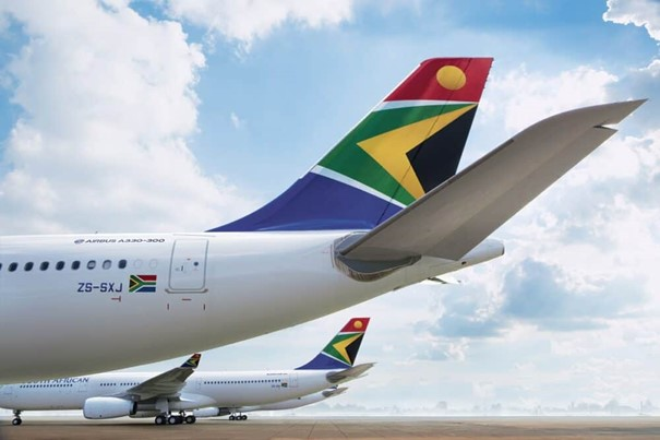 SAA has suspended all operations, including cargo flights. Image: company courtesy