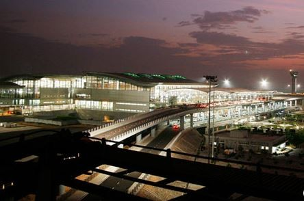 Hyderabad's Rajiv Gandhi International is one of India's most modern airports  /  source: HYD