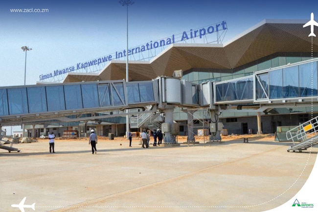 Airport for One… Image: Zambia Airports Cooperation