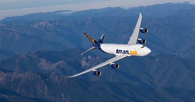 Flying from strength to strength. Image: Atlas Air Worldwide