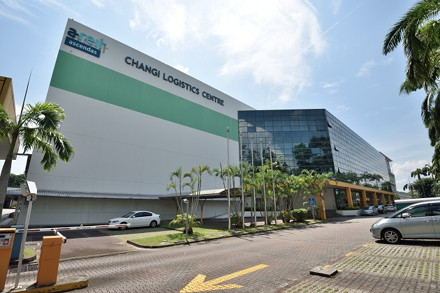 Warehouse space around Changi Airport in strong demand  -  courtesy Changi Logistics Center