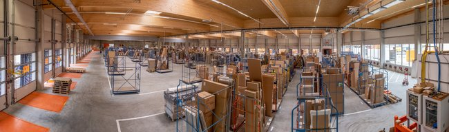 GW's new 5,000 m² Home Delivery handling facility division in Maria Lanzendorf. Image: GW / Andreas Ursprunger