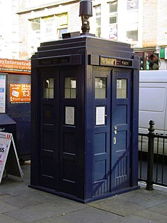 Role model for the AmaZen? Tardis placed in London, equipped with surveillance technology, belonging to the Mayor's Office for Policing and Crime (MOPAC) – courtesy: MOPAC
