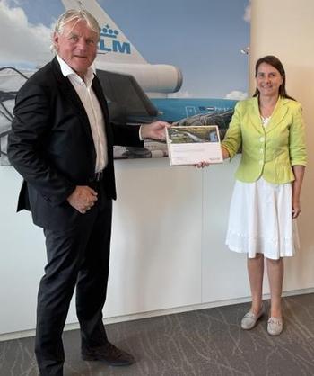 Harry van der Plas and Benedicte Duval Image: AFKLMP