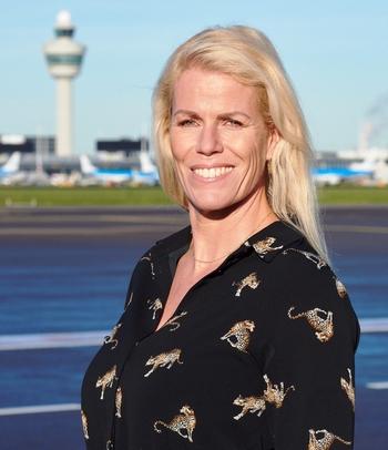 Anne Marie van Hemert, Head of Aviation Business Marketing, Amsterdam Schiphol Airport - Schiphol Group courtesy