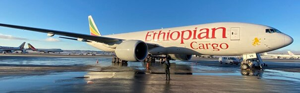 Been around the world, and back. Image: Ethiopian