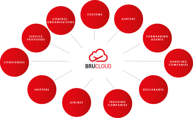 Open data sharing platform BRUCloud  -  courtesy Air Cargo Belgium