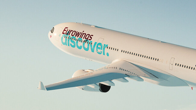 Lufthansa Discover is the crane airline's newest group member – photo: courtesy LH