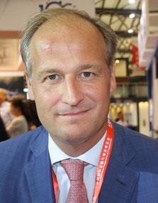 Schiphol's Head of Cargo Jonas van Stekelenburg