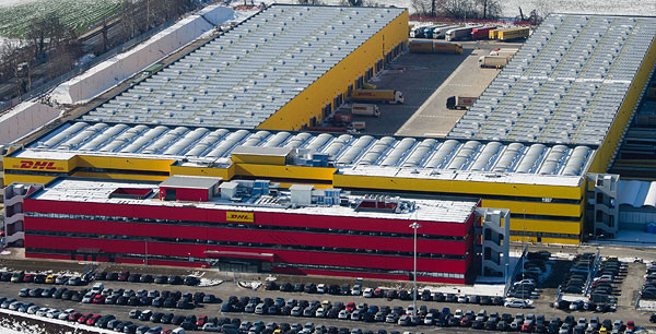 DHL's new Milan facility  -  courtesy DHL