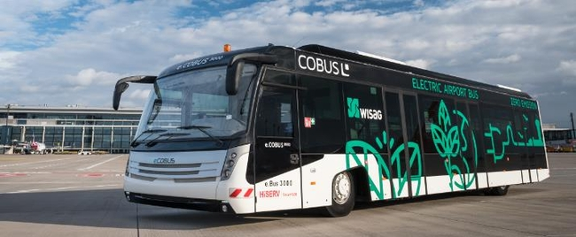 First e.Cobus 3000 at BER provided by HiSERV – picture: courtesy HiSERV