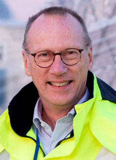 Cargo Chief Lutz Honerla of DUS is glad about increasing cargo traffic  -  image: DUS Cargo