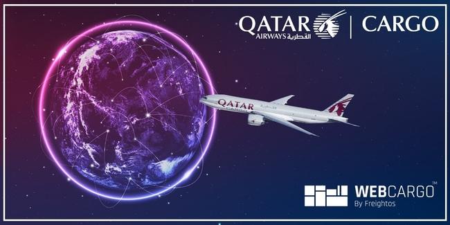Qatar Airways Cargo expands its WebCargo digital offer. Image: Lemon Queen