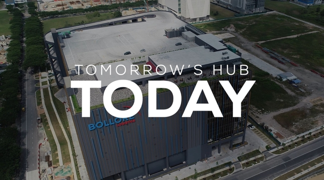 Defining the future yesterday (Blue Hub was constructed in 2019). Image: Excerpt Bolloré Blue Hub video