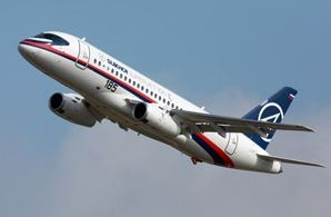 Sukhoi-built Superjet 100, stuffed with western avionic, is facing an uncertain future  /  source: Sukhoi