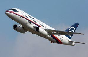 Sukhoi-built Superjet 100, stuffed with western avionic, is facing an uncertain future  /  source: Sukhoi