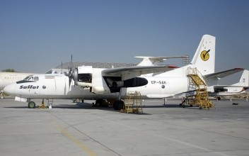 Saffatt Air operated An-26 freighter  -  courtesy Saffatt