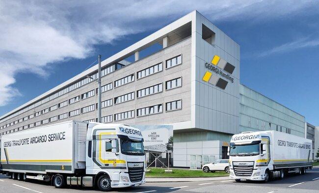 The logistics company operates a fleet of more than 400 trucks