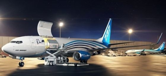 Boeing expects a flood of orders for their 737-800 P2C conversion program  -  credit: Boeing