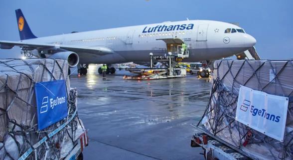 Clocking up the flights for EgeTrans. Image: Lufthansa Cargo