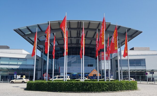 The exhibition halls in Munich, the traditional venue for Transport Logistic/Air Cargo Europe, remained empty this time – photo: hs/CFG