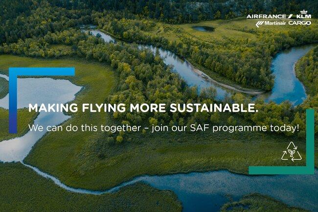 China joins in the SAF Program. Image: AFKLMP