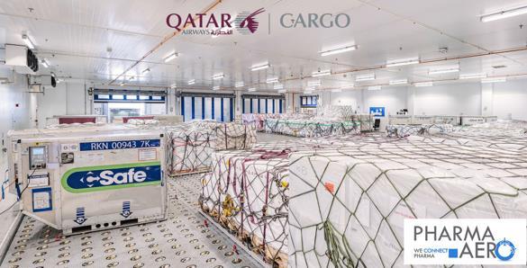 Qatar Airways Cargo is Pharma.Aero's latest member. Image: Lemon Queen