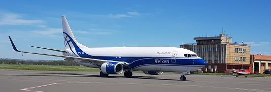 More planes to come. Image: Volga-Dnepr
