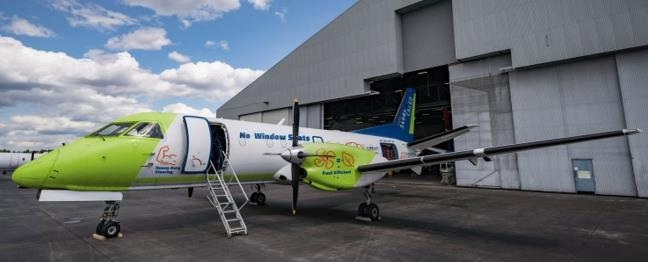 The world's first Saab 340B cargo conversion. Image: C&L Aviation Group
