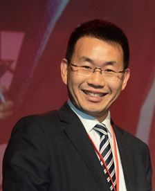 HACTL CEO Wilson Kwong is pleased about another high score  -  courtesy HACTL