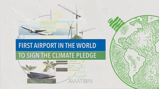 Greener operations to come at the world's first Climate Pledge airport. Images: Edmonton International Airport