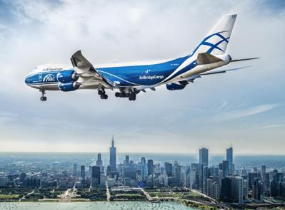 ABC is ready to land and have WFS handle its cargo at ATL. Image: AirBridgeCargo