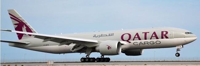 Soon eBookable on WebCargo. Image: Qatar Airways Cargo