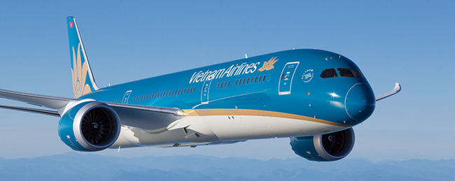 Ready to place cargo in a class of its own. Image: Vietnam Airlines/