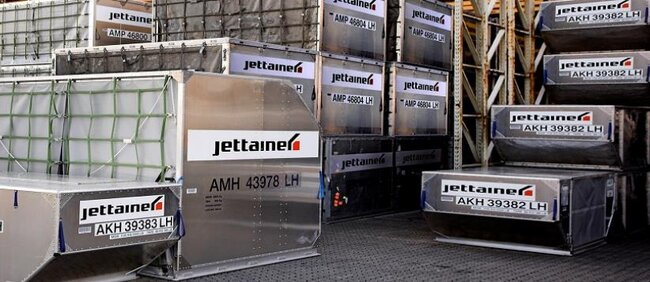 Soon these ULDs will be doubled – digitally, picture: Jettainer