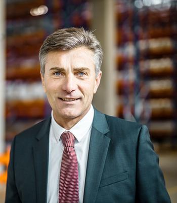 Gerhard Haas, Branch Manager Gebrüder Weiss Graz. Image: Gebrüder Weiss / Wolfgang Croce
