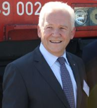 Deutsche Bahn Chief Ruediger Grube  -  photo: hs