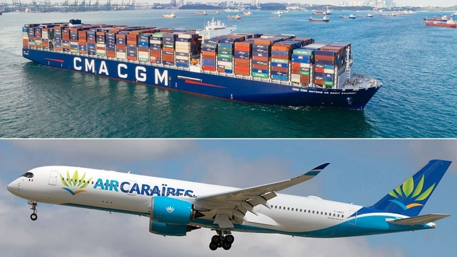 CMA CGM adds air freight to its product portfolio through a 30% stake in the Groupe Dubreuil Aéro