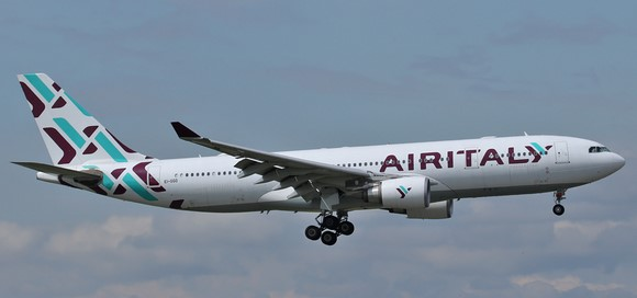 Air Italy operated A330-200. The carrier's livery will soon be history - Picture: Air Italy