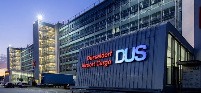 Dusseldorf Cargo reports an increasing number of freighter flights lately  -  image: courtesy DUS Cargo