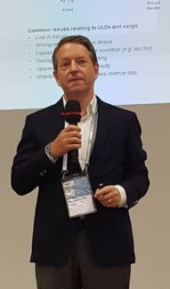 Markus Flacke, Head of Product Management and Solution Development at ULD manager Unilode presented smart tags for equipping ULDs